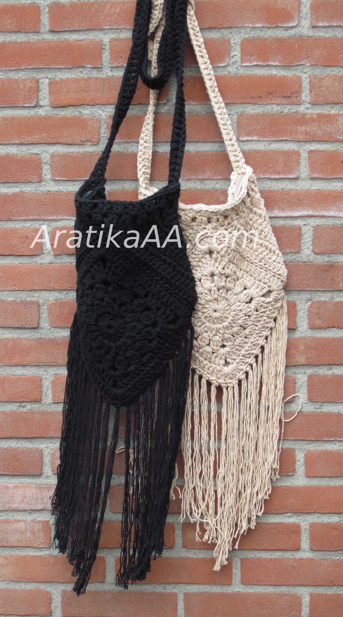 Boho Bags black and sand